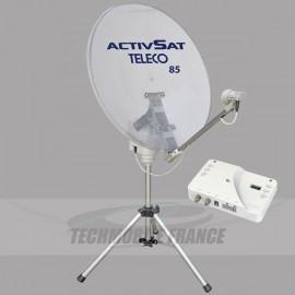 pointeur de satellite pour caravane